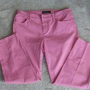 Ralph Lauren pink jeans